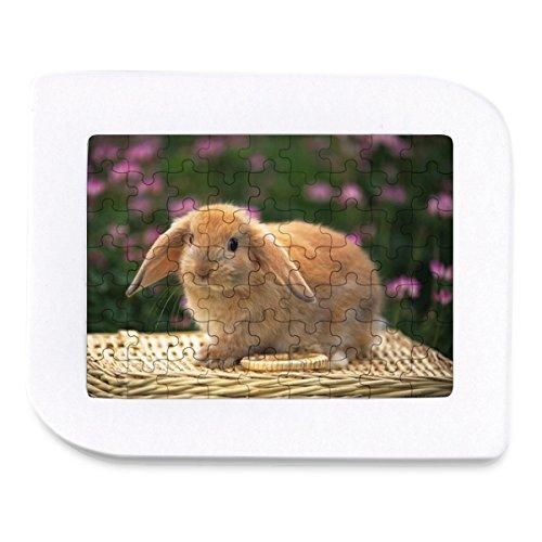 ECO-Pad Cute Little Rabbit Puzzle Jigsaw Puzzle 63 Pieces 6-Pack
