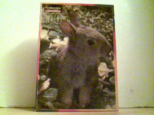 Rabbit Puzzle  Zoe  Kodacolor 100 Pieces 115 1625