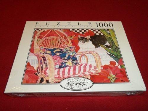 Sara Eyestone 1000 Piece Red Puzzle