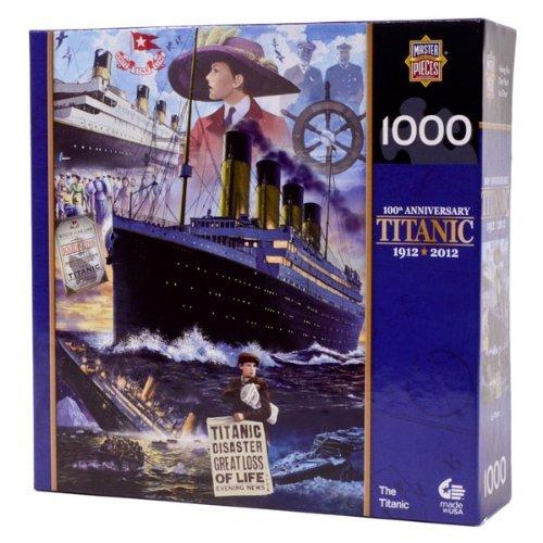 MasterPieces  Commemorative Titanic 1000-Piece Puzzle Titanic Voyage by MasterPieces