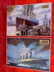 Titanic Jigsaw Puzzle 2 X 500 Piece