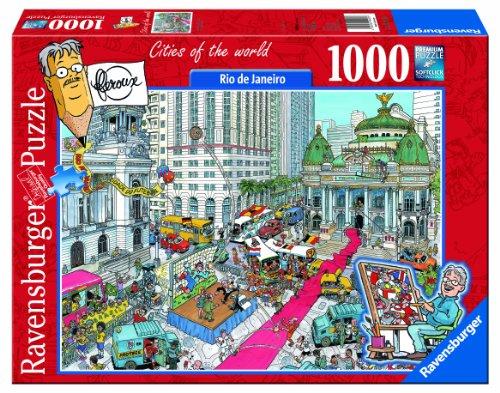 1000 Piece Rio De Janeiro Football Puzzle