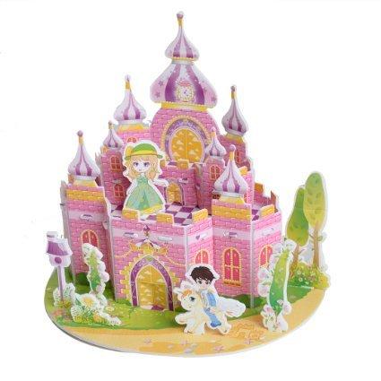 Sidiou Group Merry Puzzle 3D Puzzle Castle Theme Form Board