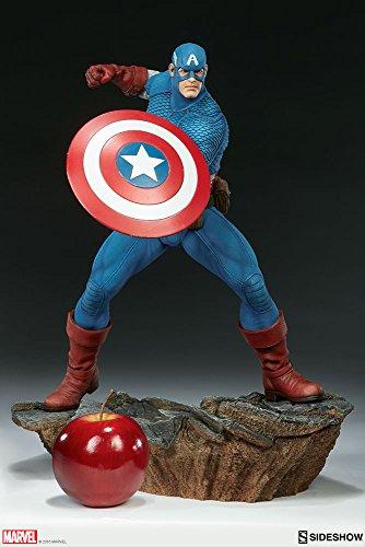 Marvel Sideshow Comics Avengers Assemble Captain America Statue