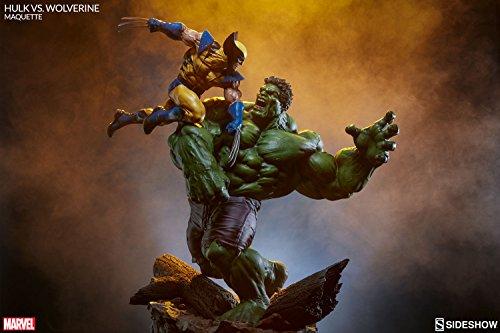 Sideshow Marvel Comics Hulk vs Wolverine Maquette Statue