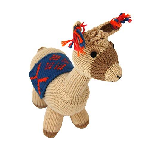 Cotton Llama Stuffed Animal - A Hand Made Fair Trade Toy From Peru