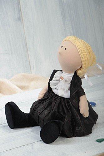 Handmade Designer Doll Unusual Textile Interior Decor Cute Small Soft Toy