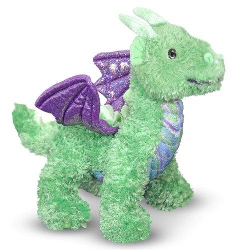 Melissa Doug Zephyr Dragon Stuffed Animal
