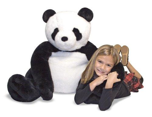 Melissa Doug Giant Panda Bear - Lifelike Stuffed Animal over 2 feet tall