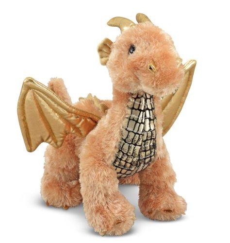 Melissa Doug Luster Dragon Stuffed Animal