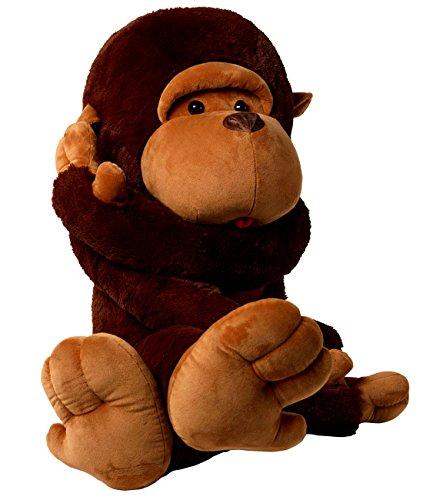 PeiGee 90cm Monkey Plush Toy Cute Gorilla Stuffed Animal Toys