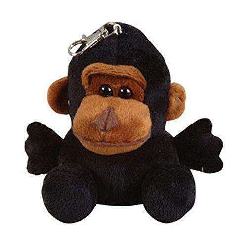Planet Plush - GORILLA  key clip - 5 inch  - New Stuffed Animal