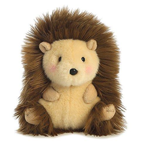 Merry Hedgehog Rolly Pet 5 inch - Stuffed Animal by Aurora Plush 16812