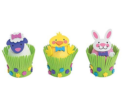Foam Easter Egg Decorating Craft Kit One DozenEasterCraftsActivities
