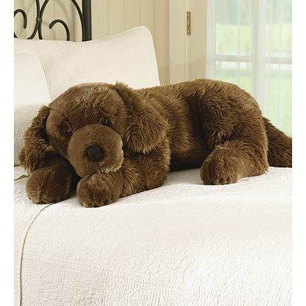 Large Plush Dog Labrador Retriever Pillow