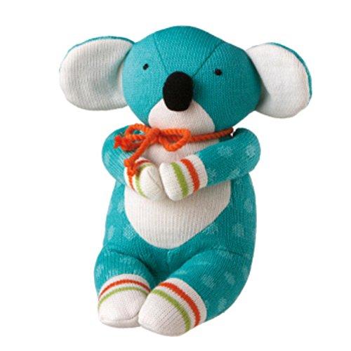 12 Genuine Monkeez and Friends Teal Polka Dot Plush Kooky Koala Stuffed Animal