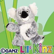 Ganz Lil Webkinz Plush - Lil Kinz Koala Stuffed Animal by Ganz