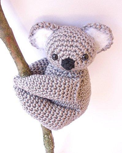 Koala stuffed animal Koala plush Crochet Koala Amigurumi crochet animal