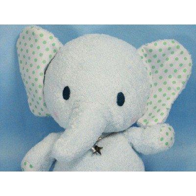 A stuffed toy elephant Shinada starlight elephant