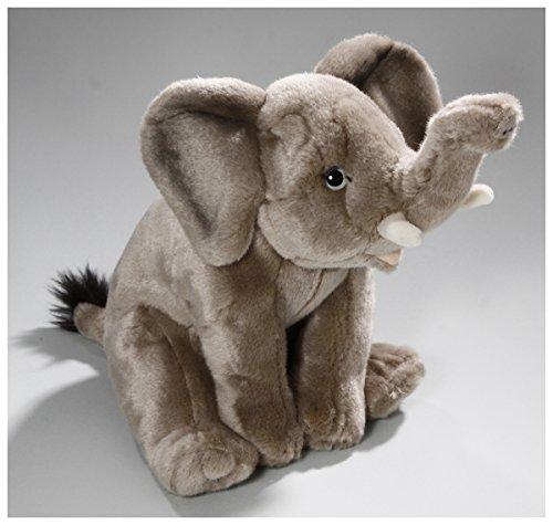 Stuffed Animal Elephant sitting 10 inches 25cm plush toy soft toy