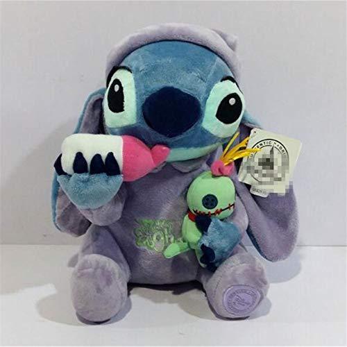 Best Quality - Movies TV - 1pcs Lilo Stitch Plush Toys Plush Toys Stitch Holding Scrump Stuffed Animal Dolls 26 CM Children Soft Toys Gift - by Pasona - 1 PCs
