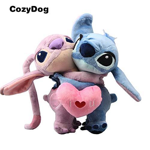 Best Quality - Movies TV - Anime Lilo Stitch Plush Toy Doll Stitch Scrump Angel Plush Keychain Slipper Drawstring Bag Pendant Top Grade Plush Dolls - by Pasona - 1 PCs