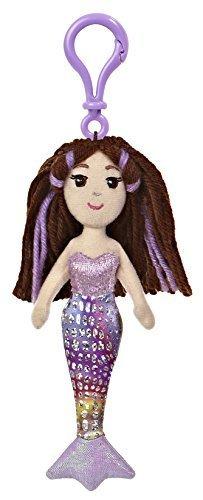 Merrisa Clip-On ~65 Mini-Plush Sea Sparkles Mermaid Plush Doll Series by Sea Sparkles Mermaid
