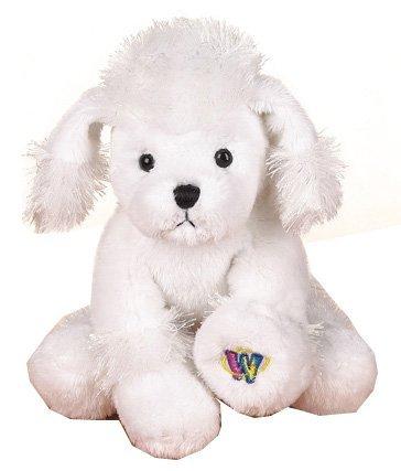 Ganz Lil Webkinz Plush - Lil Kinz White Poodle Stuffed Animal by plush-poodle-hs014-9a-f10-2