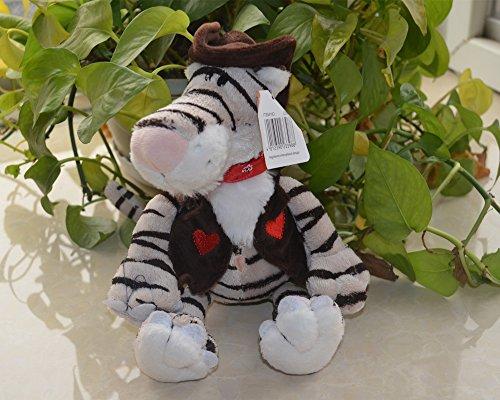 25cm Nici Cowboy Tiger Plush Toy Baby Kids Doll Gift