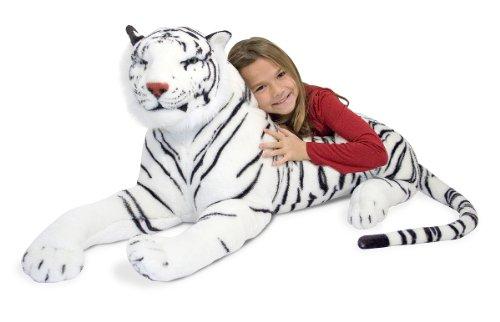 Melissa Doug 13979 White Tiger Plush Toy