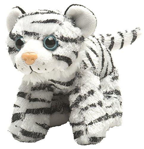 Wild Republic Hug Ems White Tiger Plush Toy