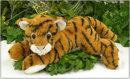 Wishpets 12 Floppy Bengal Tiger Plush Toy by Wishpets
