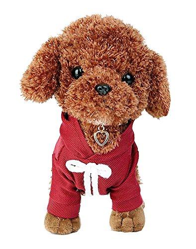 Poodle Dog Plush Animal Toys Kids Realistic Stuffed Toys