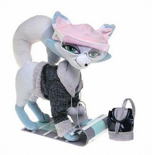 Bratz Petz Wintertime Fox Stuffed Pet with Tobaggan