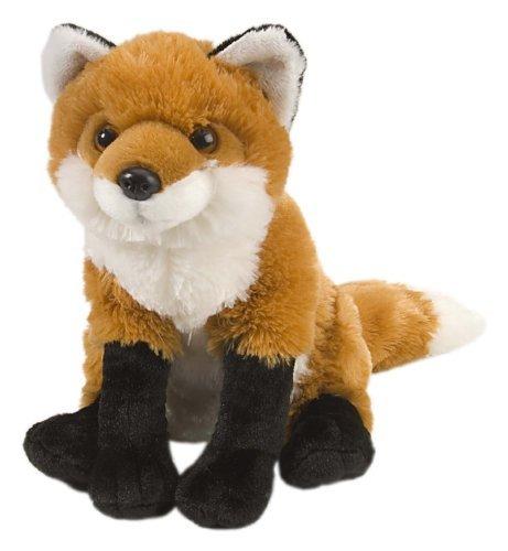 Realistic stuffed fox 30cm parallel import goods