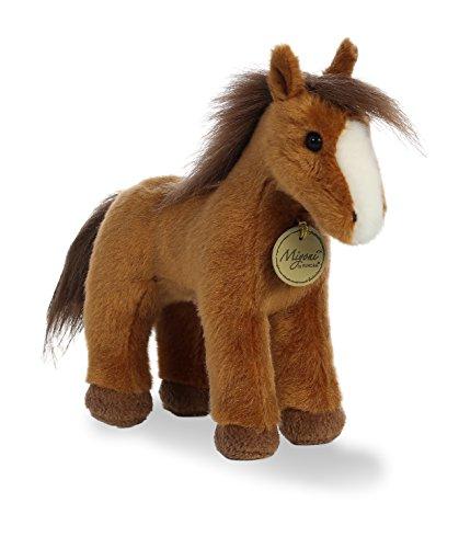 Aurora World Miyoni Plush Brown Horse Plush Toy Brown