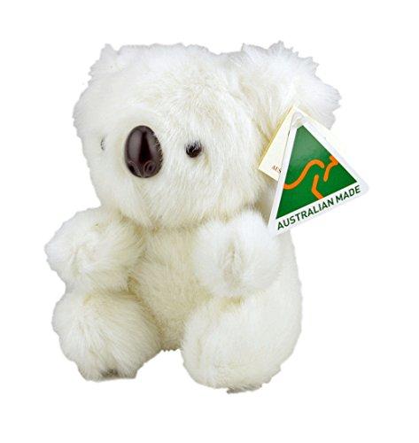Australian Made Koala Stuffed Animal Plush Toy Medium White