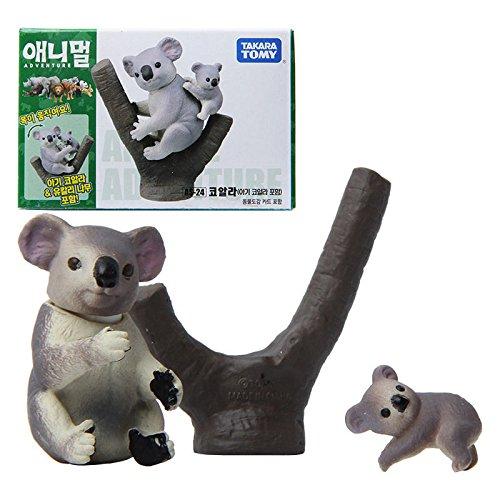 Takara Tomy ANIA AS-24 Animal Koala Action Figure Toy 2pcs