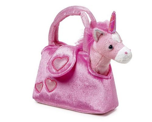 Small Foot Company-4146-Unicorn Soft Toy-With Bag-Fina by Small Foot