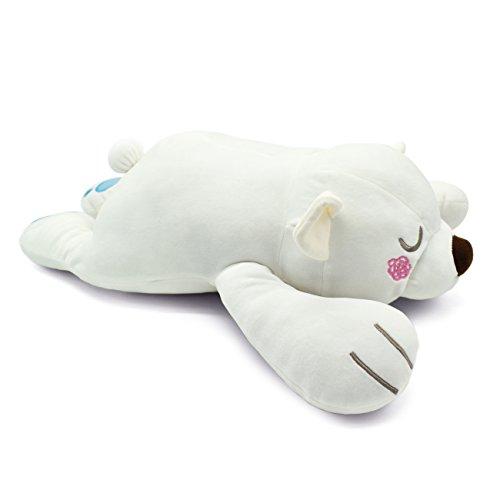 Sunyou Polar Bear Soft Plush Pillow Animal Stuffed Toy Gift 55 x 25 x 15cm for KidsAdults Medium
