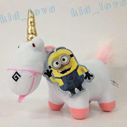 Despicable Me 2 Plush Unicorn Soft Toy Stuffed Animal Doll Its So Fluffy 9