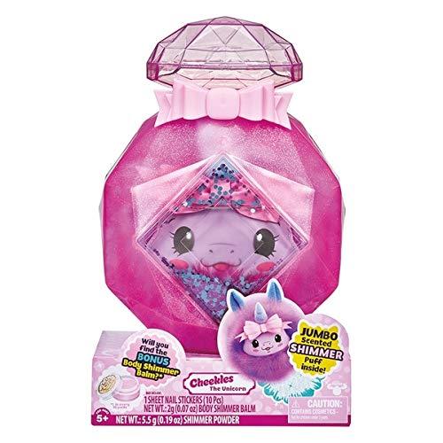 Pikmi Pops PKC02300 Cheeki Puffs Jumbo Plush Cheekles The Unicorn