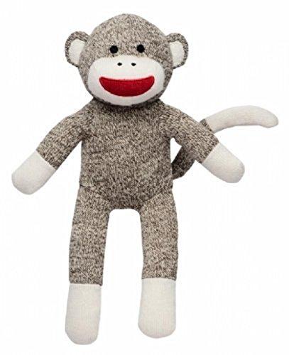 Babystarters Sock Monkey Sweater Knit Plush Toy by Rashti Rashti