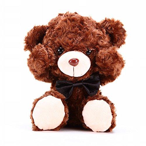 Kungfu Mall Lovely Soft Toy Shy Bear Doll Teddy Bear Adorable Ragdoll Christmas Gift Classic Rose Velvet Fabric Shy Bear Arouses Love
