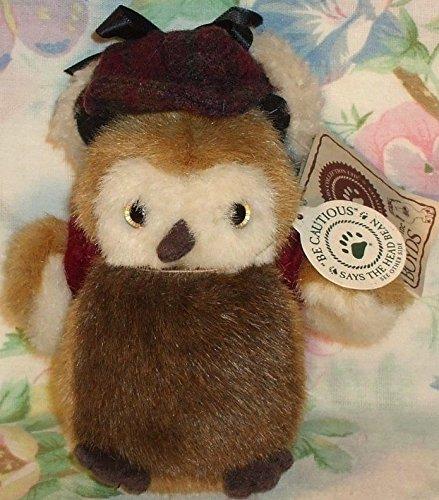 Boyds Stuffed Owl Lester Mchootle 45 Plush
