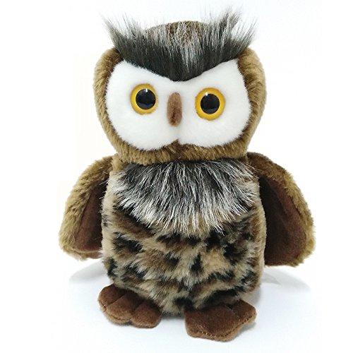 Lazada Realistic Stuffed Owl Dolls Wild Animal Baby Plush Toy 8