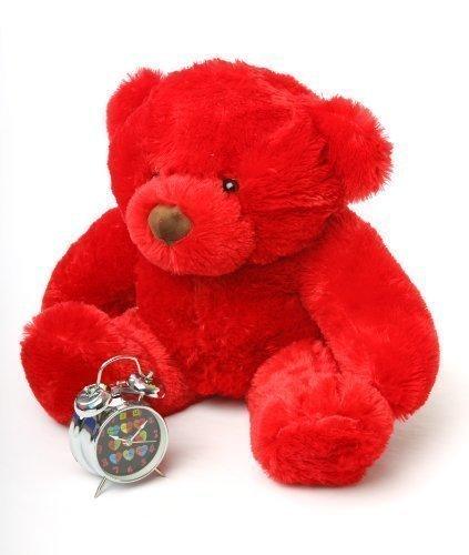 Riley Chubs - 30 - Irresistibly Cute Cuddly Red Plush Bear
