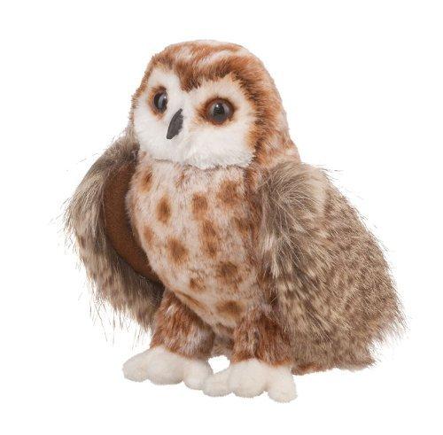 Douglas Cuddle Toys Radar Brown Owl Plush Stuffed Animal