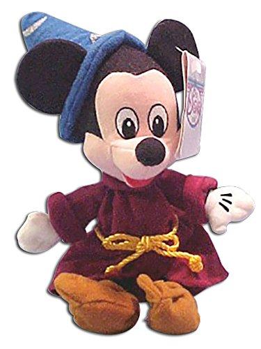 Disney Store Plush Fantasia Sorcerer Mickey Mouse Stuffed Toy Doll