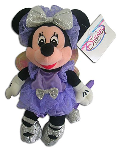 Disney Store Plush Sugarplum Fairy Minnie Mouse Stuffed Toy